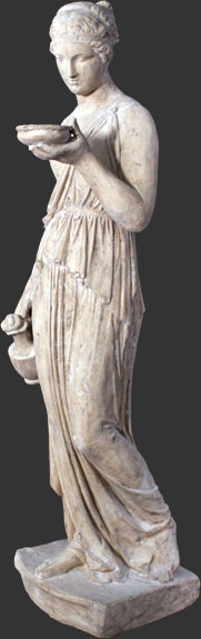 Hebe Statue - Click Image to Close
