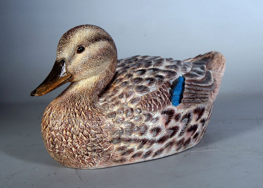 Female Mallard Duck / Fiberglass
