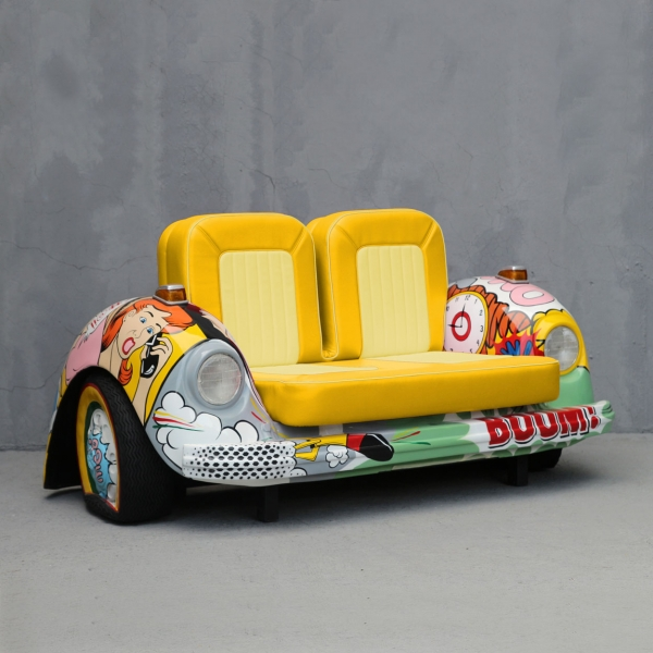 Pop V-Car Couch