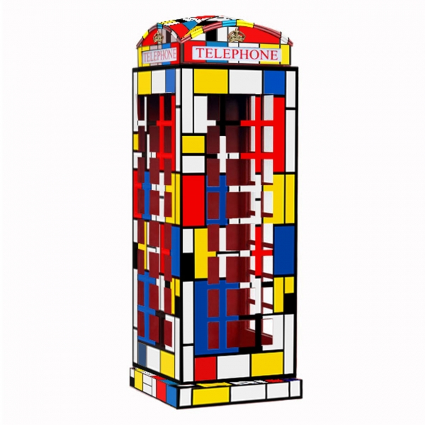 Telephone Booth Mondriaan
