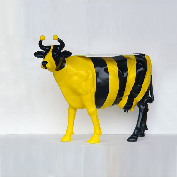 Bumble Bee Cow (with or without Horns)
