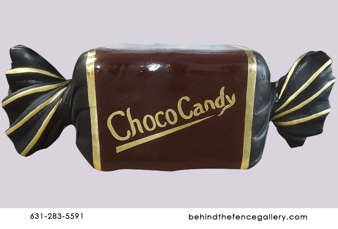 Choco Wrapped Chocolate Candy Statue
