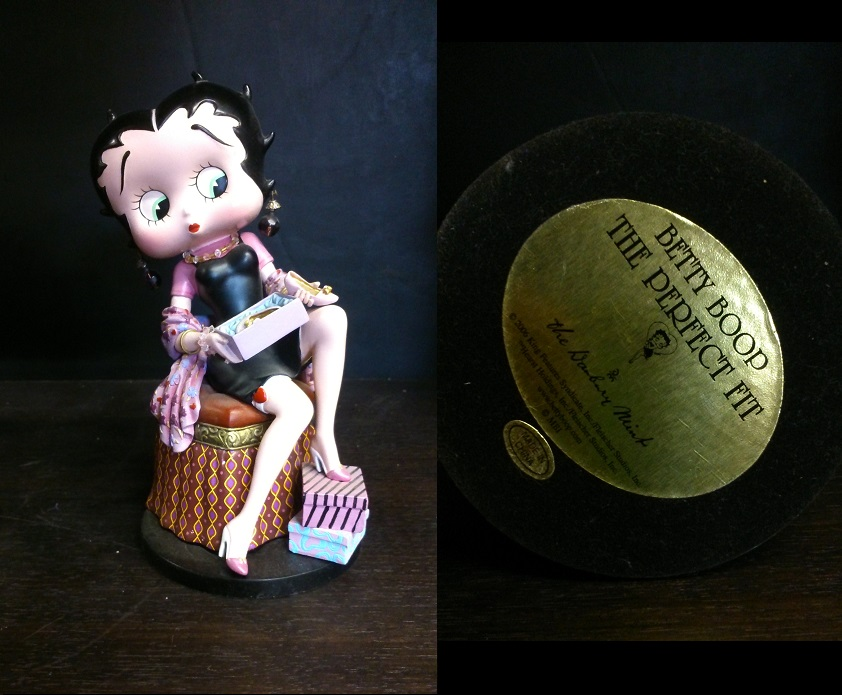 "Betty Boop ""The Perfect Fit"" - Click Image to Close"