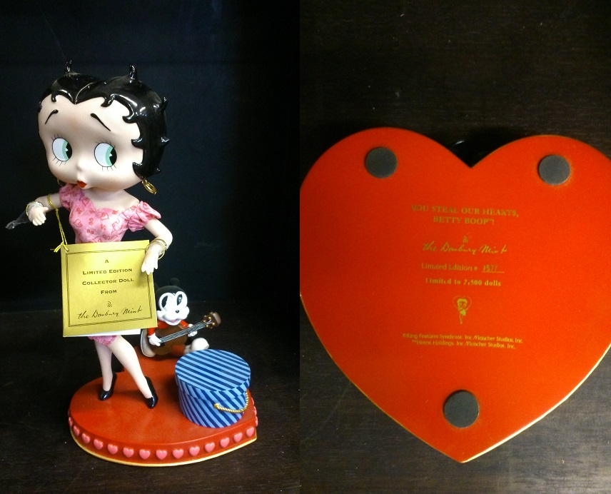 "Betty Boop "" Stealing Heart"" - Click Image to Close"