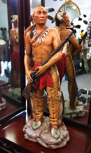 Indian with Rifle 3 ft.