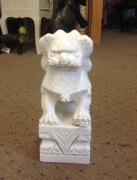 Chinese Mable Foo Dog 8''
