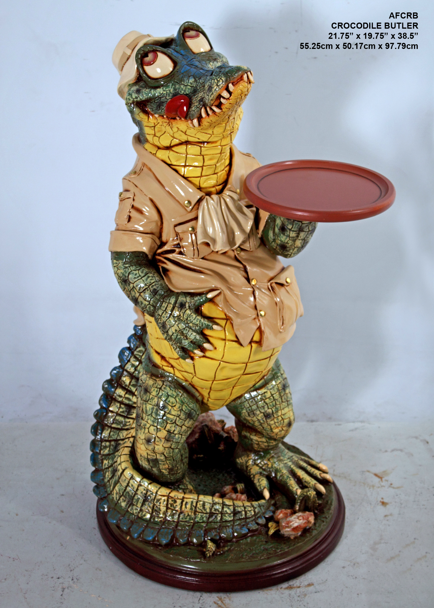 Crocodile Butler 3ft.