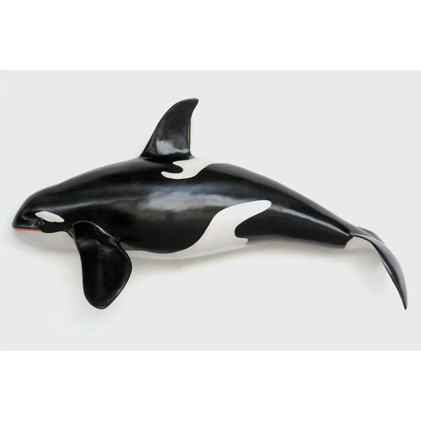 Orca Whale Wall Decor