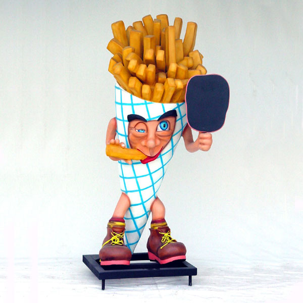 French Fries Man 6 ft.