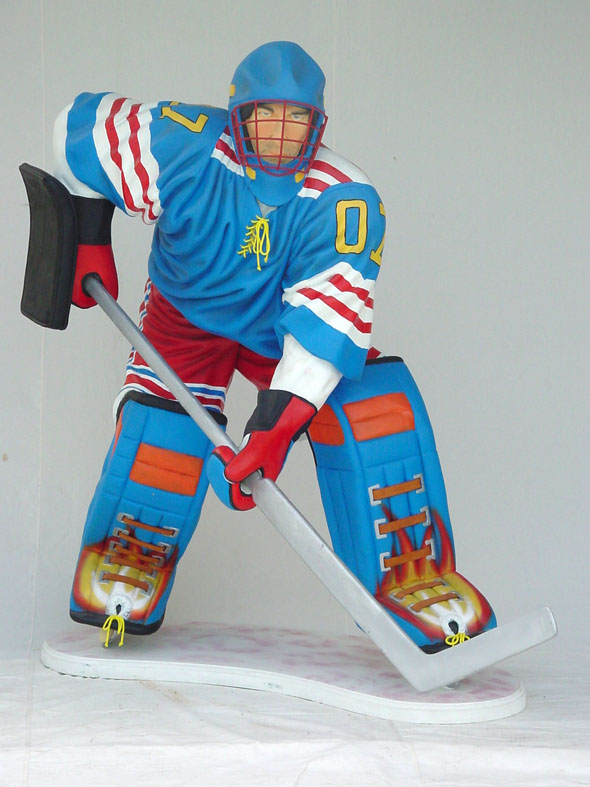 Goalie - Life-Sized Statue