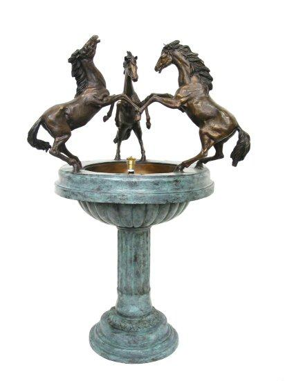 Bronze Horses Fountain