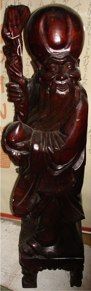 Chinese Monk 3ft.