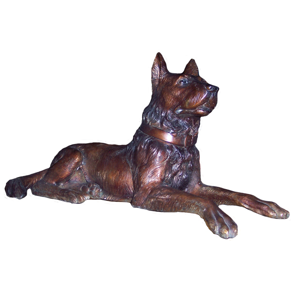 Bronze Dog without the Base