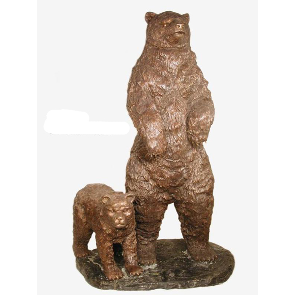 Bronze Mother and Cub