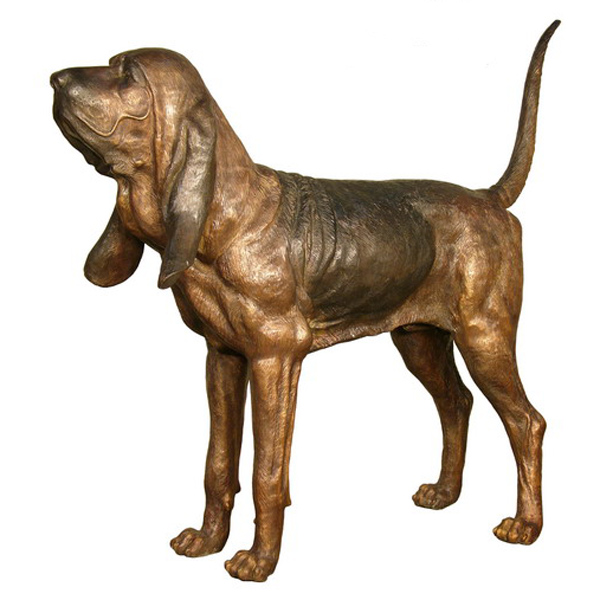 Bronze Bloodhound