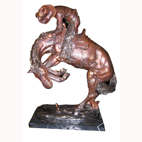 "Bronze Medium Remington ""Rattlesnake"""