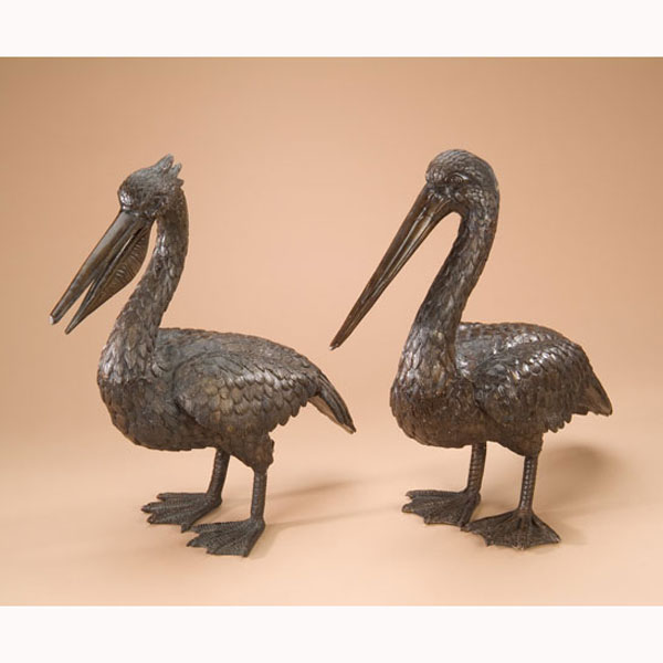 Bronze Pelican Fountain ( pair )