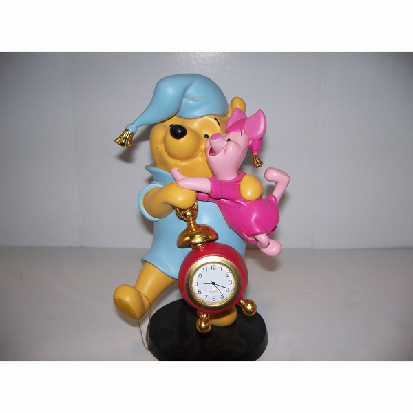 Pooh Bear and Piglett Clock
