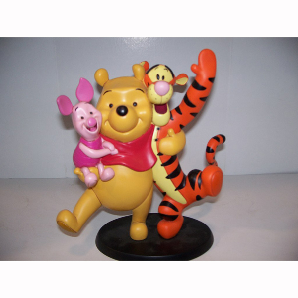 Happy Pooh Tigger and Piglett