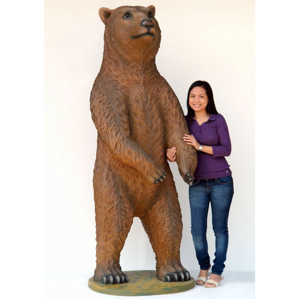 Big Grizzly Bear Statues