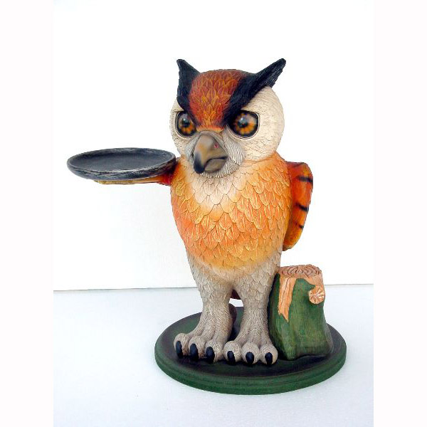 Owl with Tray