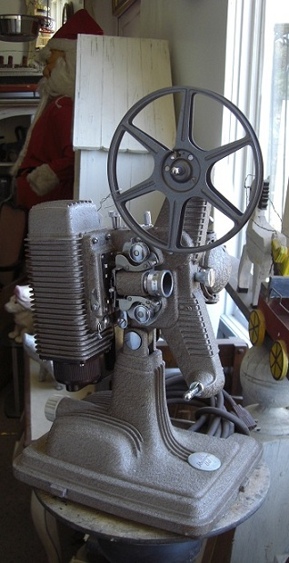Old Movie Projector 'Line New'