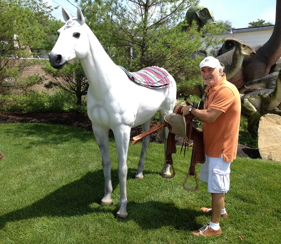 Ice Cream Truck For Sale >> Standing Horse/White Standing Horse [100018H] - $1,149.99 ...